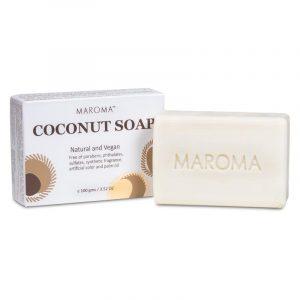 Maroma Vegan Kokos-Körperseife Fair Trade