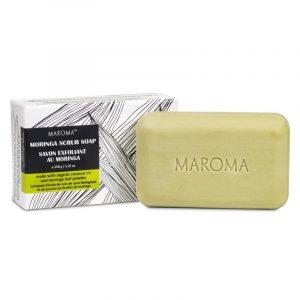 Morama Vegan Peelingseife Moringa Fair Trade