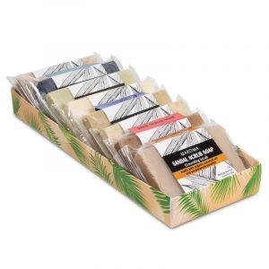 Maroma Set/8 Vegan Minipeelingseifen Fair Trade