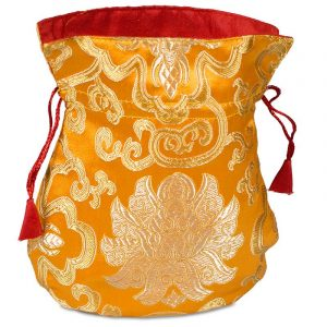 Patchwork Beutel Lotus Orange