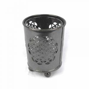 Teelichthalter Blume des Lebens (6 x 5 cm)