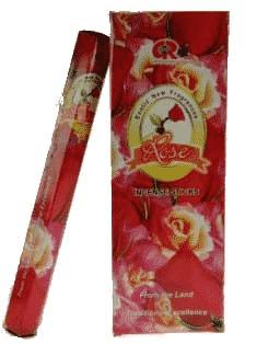 G.R. Raucherstäbchen Rose (6 Packungen à 20 Gramm)