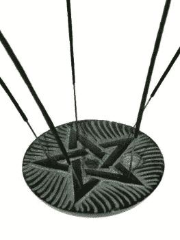 Räucherstäbchenhalter Pentagramm Speckstein