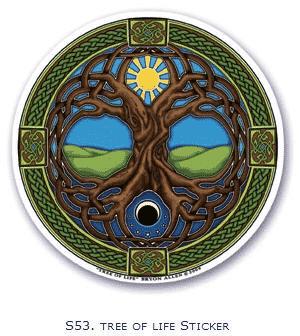 Fensterbild Lebensbaum
