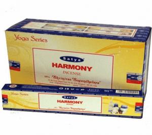 Räucherstäbchen Satya Nag Champa Harmonie (12 Packungen)