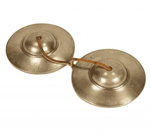 Tingsha glatt optimaler Klang (6,5 cm)