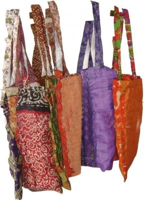 Einkaufstasche Qualität Viskose Sari
