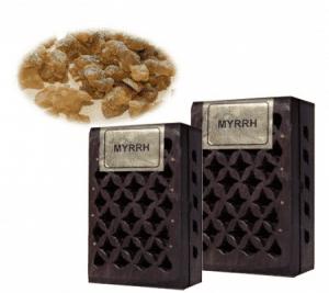 Harzmischung Myrrhe in Holz Dose