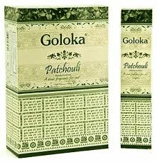 Goloka Raucherstäbchen Patchouli (12 Packungen)