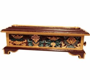 Räuchergefäß Holz Tibetisch