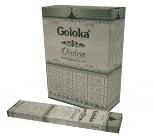 Goloka Raucherstäbchen Divine (12 Pakete)