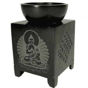 Duftlampe Speckstein Buddha