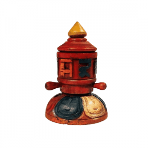 Gebetsmühle Holz