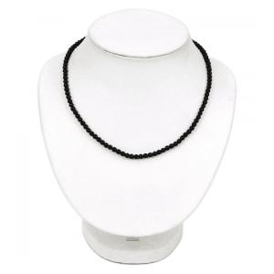 Halskette schwarzer Turmalin 3703