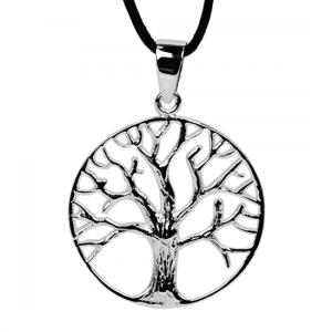 Anhänger Lebensbaum aus Sterlingsilber