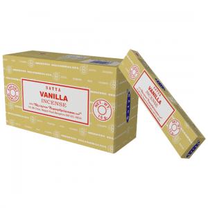 Räucherstäbchen Satya Vanilla (12 Packungen)