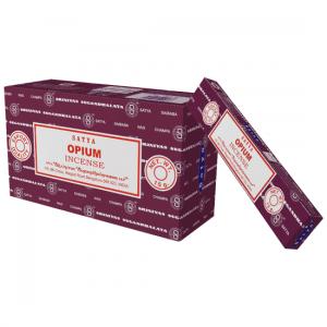 Satya Weihrauch Opium (12 Packungen)