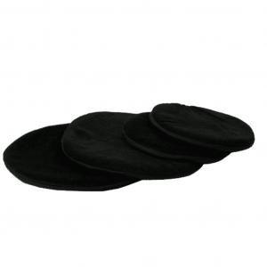 Flaches Kissen für Klangschale schwarz (15 cm)