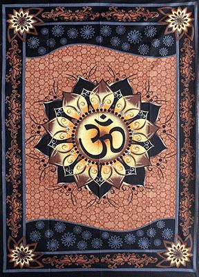 Wandteppich Ohm Lotus (208 x 147 cm)