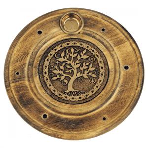 Räucherstab- Weihrauchkegelhalter Baum des Lebens