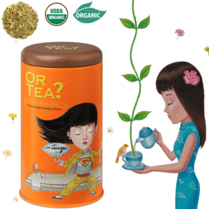 Or Tea? EnerGinger Premium bio Ingwerkräutertee