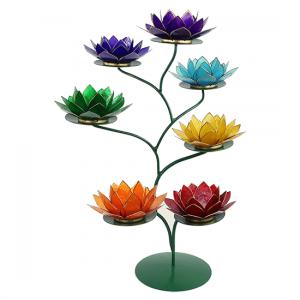 Chakra Lotus Display grün