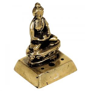 Räuchergefäß Buddha aus Messing