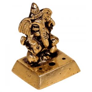 Räuchergefäß Ganesha aus Messing
