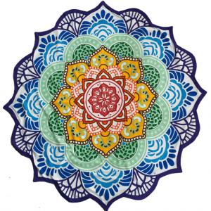Strandtuch Mandala-Design (7 Chakra)
