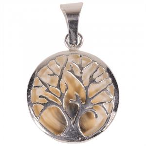 Anhänger Lebensbaum und Operculum (925 Silber)