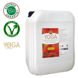Yogamatten Reinigungsspray - Blutorange (10l)