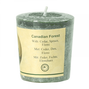 Chill-out Duftkerze 'Canadian Forest' Stearin
