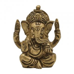 Ganesh Messing Miniatur - 5 cm