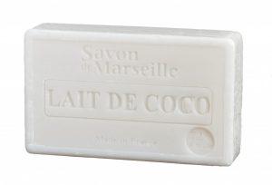 Natürliche Marseille Seife mit Kokosmilch