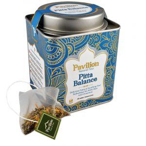 Ayurvedischer Kräutertee Pitta BIO - Biologisch, Koffeinfrei und Vegan