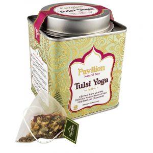Ayurvedischer Kräutertee Tulsi Yoga BIO - Biologisch, Koffeinfrei und Vegan