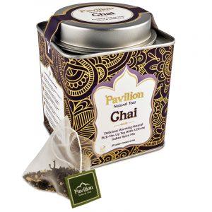 Pavilion Ayurvedischer Chai Tee BIO - Biologisch, Koffeinfrei und Vegan