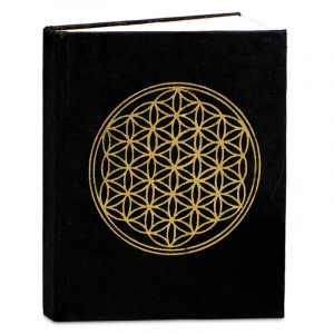 Notizbuch mit Blume des Lebens