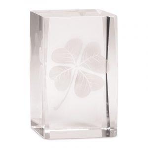 Kristall Laser Vierblättriges Kleeblatt AA