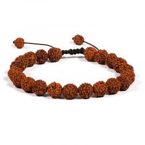 Mala Armband Rudraksha 21 Perlen (verstellbar)