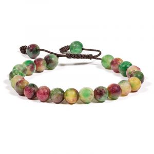 Mala Armband Achat 21 Perlen (verstellbar)
