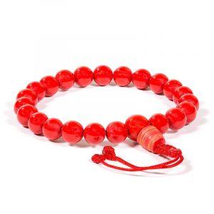 Mala Armband Koralle 21 Perlen