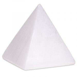 Selenit Pyramide (8 cm)