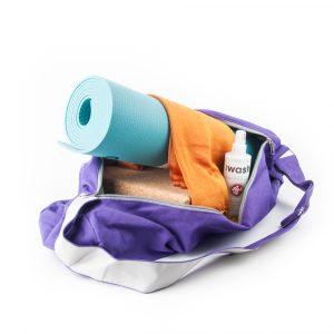 Tasche für Yogamatte (lila)