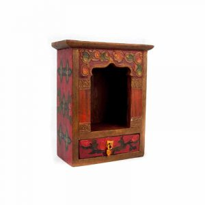 Altar mit Schublade -Holz- handbemalt