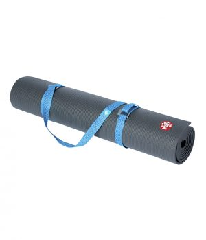 Manduka Go Move Mat Carrier – Pacific Blue -Blau 173 x 4 cm