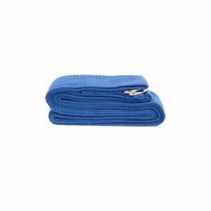 Yogagurt D-Ring Schnalle Blau Baumwolle (250 x 3 cm)
