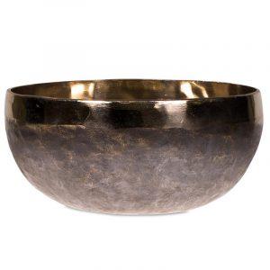 Klangschale Ishana schwarz/gold 15cm