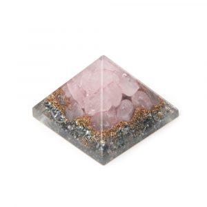 Orgonit Baby Pyramide aus Rosenquarz