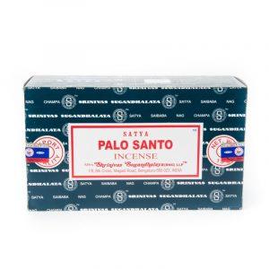 Satya Raucherstäbchen Palo Santo (12 Packungen)